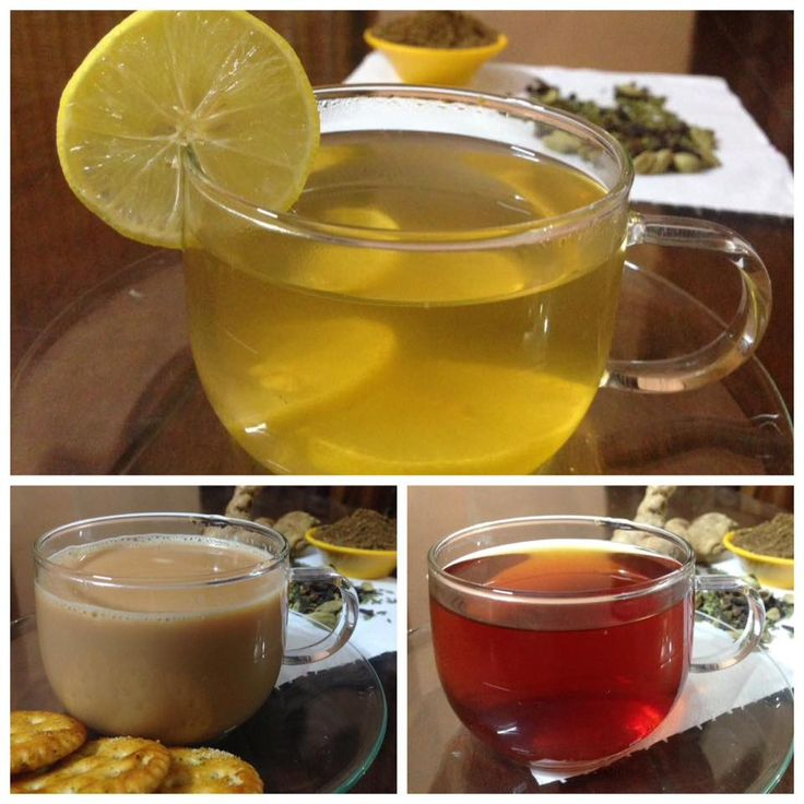 Masala Tea in three different ways
