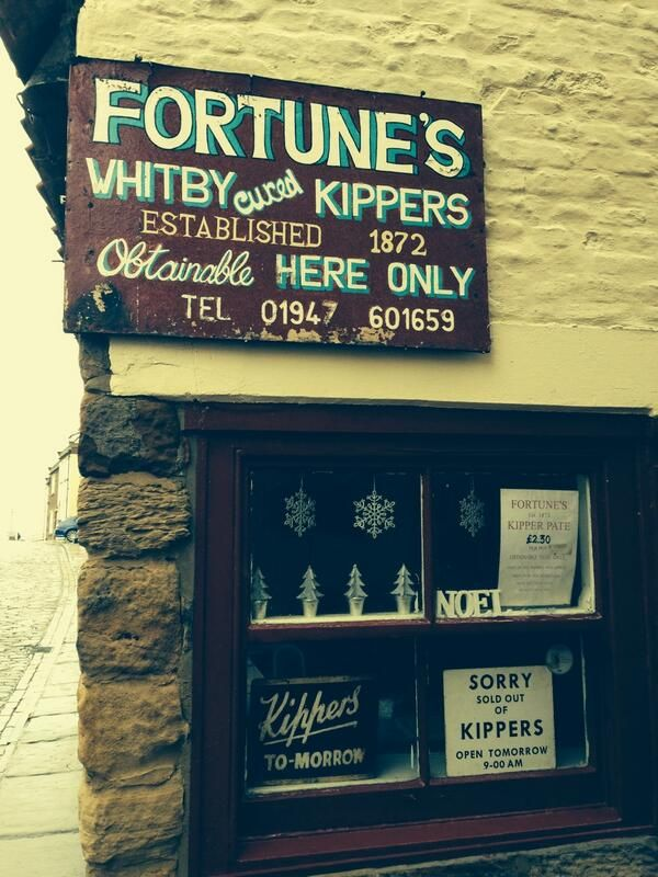 Fortunes, Whitby, Yorkshire- the home of traditional Whitby Kippers