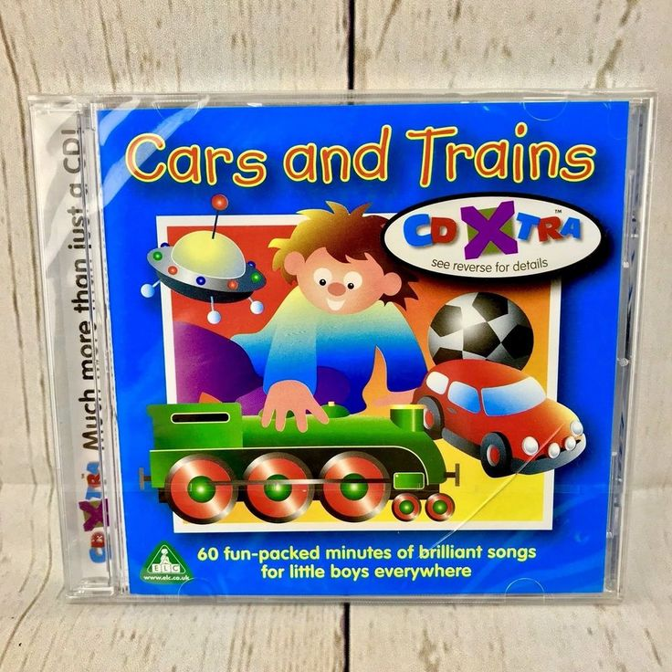Kids Cd Elc Cars And Trains 60 Minites Of Fun For Children's Toddlers Brand New
