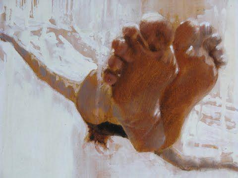 Carol Bennett. Haha feet:)