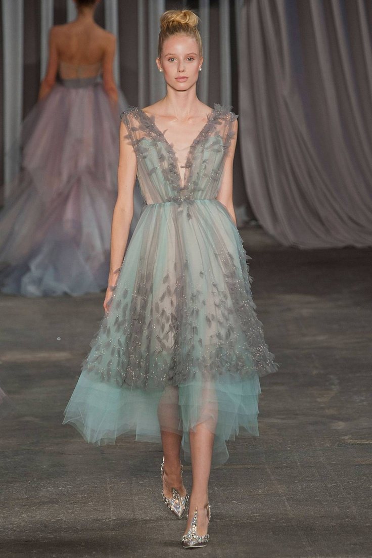 Christian Siriano Spring 2013 RTW... this is a beautiful frock!