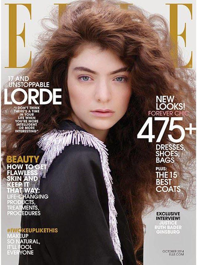 Lorde Elle Magazine