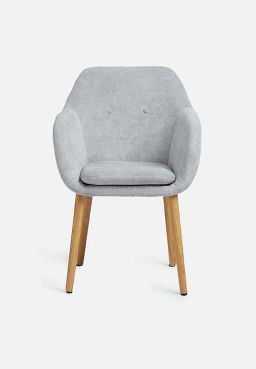 Emilia carver - light grey Sixth Floor Chairs | Superbalist.com