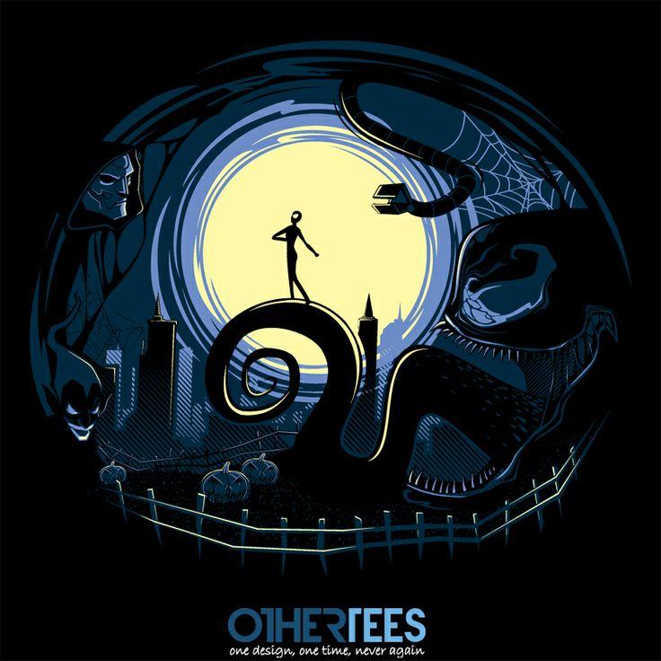 Spider Nightmares by StudioM6 Shirt on sale until 05 April on http://othertees.com #spiderman