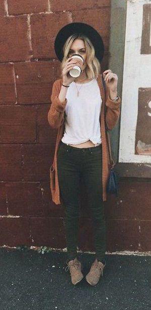 Fall cardigan classy fashion