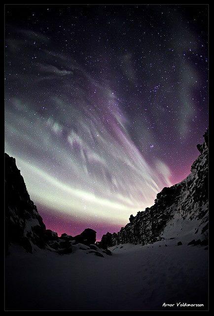 Full of stars, Iceland.