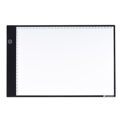 24.99$  Watch more here  - Portable A4 LED Light Box Drawing Tracing Tracer Copy Board Table Pad Panel Copyboard with 3-mode Brightness Black Edge Scale for Artist Animation Sketching Architecture Calligraphy Stenciling