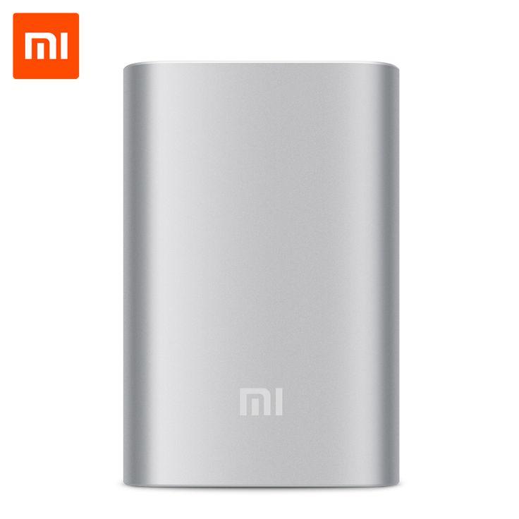 Оригинал Xiaomi Power Bank 10000 мАч Портативное Зарядное Устройство Внешняя Батарея Powerbank 18650 для Xiaomi Samsung HTC Мобильные Телефоныкупить в магазине SHENZHEN OKQI TECHNOLOGY CO., LTD.наAliExpress