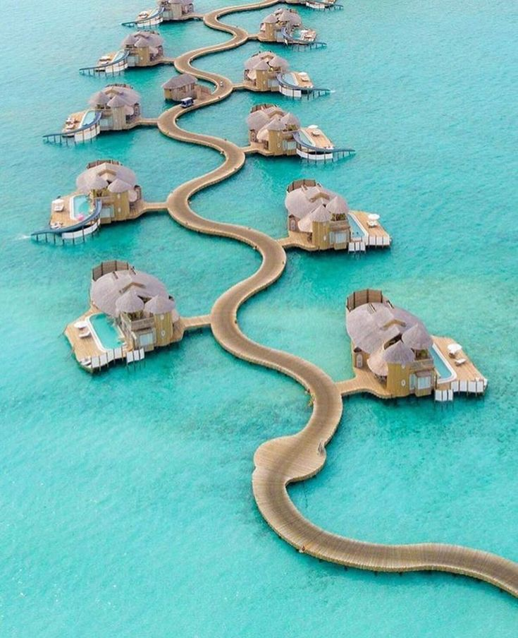 Naked Planet The amazing overwater villas at