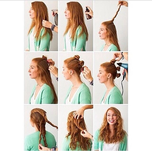 159 Best No Heat Waves Curls Images On Pinterest Heatless Beauty Tips And Braids