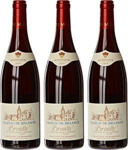 Château de Briante France Beaujolais Vin Rouge Brouilly AOC 2014 75 cl – Lot de 3