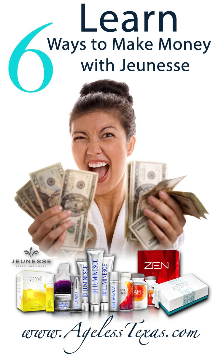Learn How to Earn Extra Money with Jeunesse as a Distributor