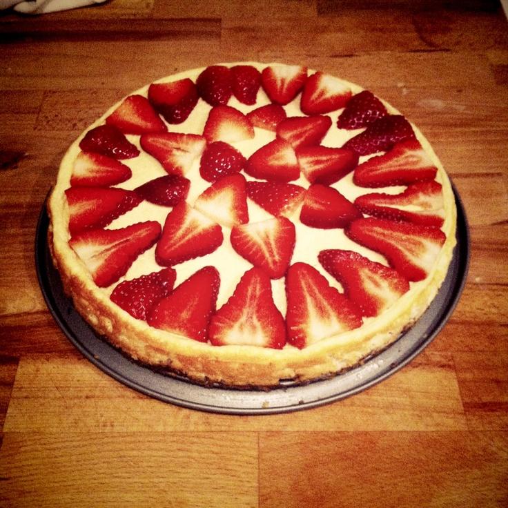Healthy cheesecake for Daddy's Day por parte de la gran healthy-chef EvitaViti