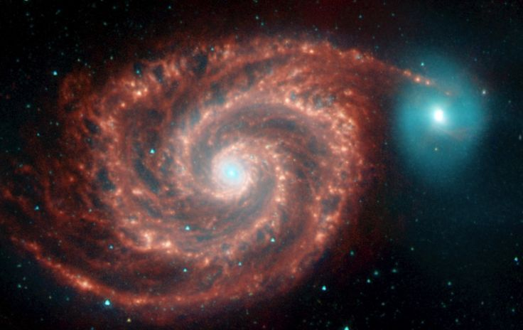 Messier Monday: The Whirlpool Galaxy, M51 – Starts With A Bang