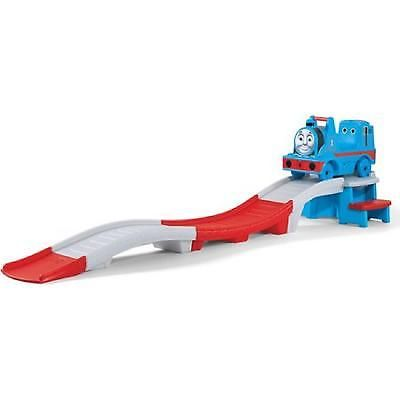 Ride On Up Down Roller Coaster Thomas Train Tank Engine Track Racing Play Game