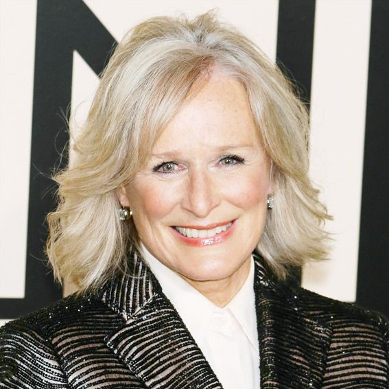 Glenn Close's Changing Looks - 2013  - from InStyle.com