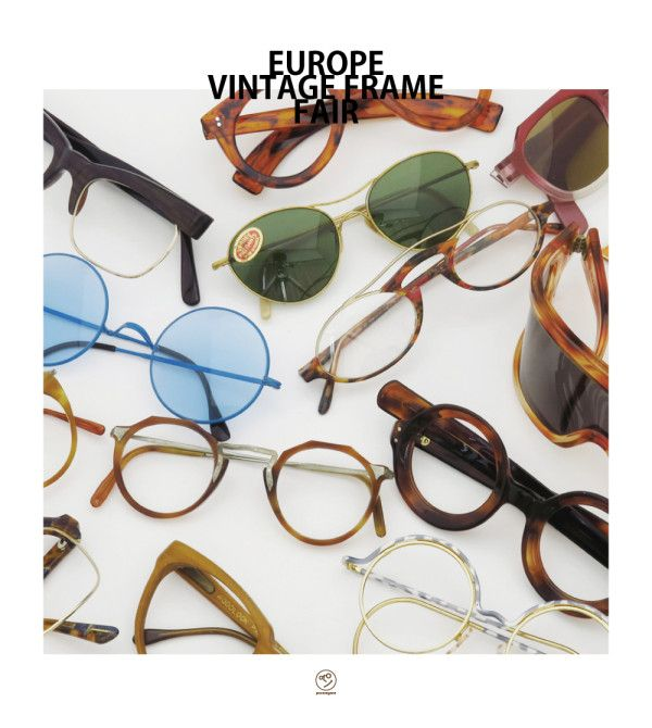 EUROPE VINTAGE FRAME FAIR 2014 | optician | ponmegane