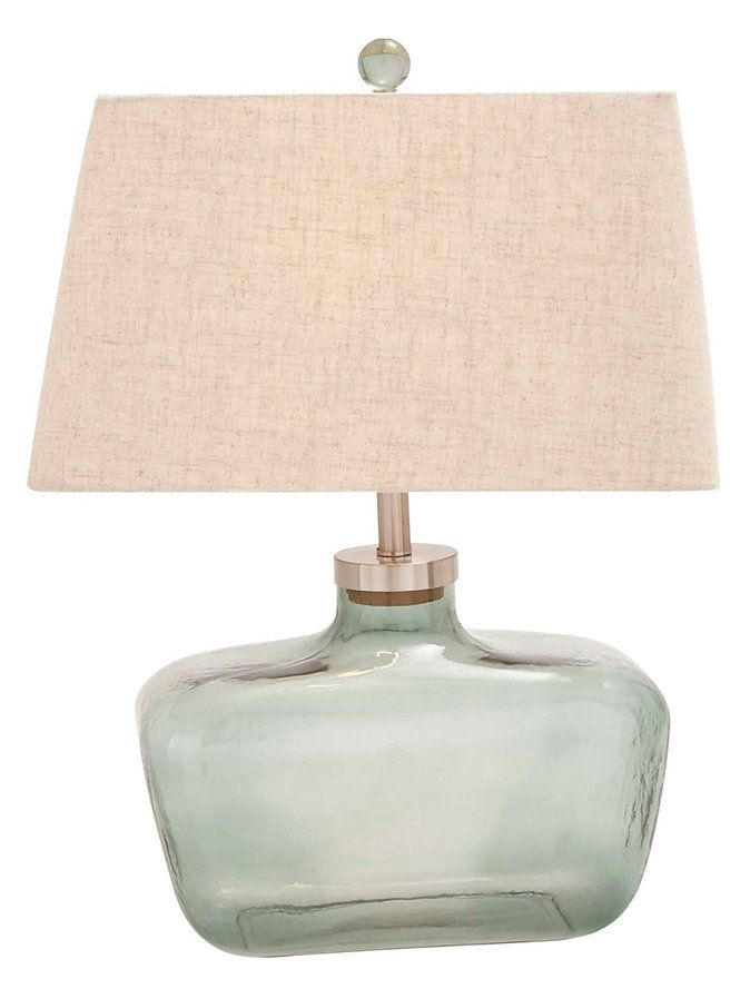 Mariela Glass Table Lamp The Stubby And Wide Base Of This Lamp Make It Such  An Interesting Piece To Add To Your Decor.
