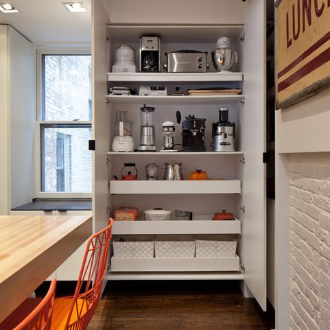 Modern Soft Close Drawer Cabinets Kitchen Design Ideas, Pictures, Remodel and Decor | kitchen pantry