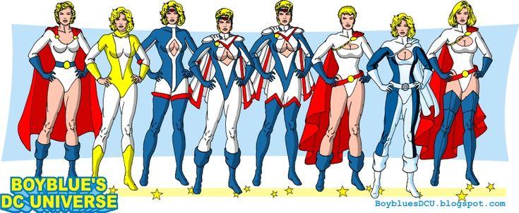 Power Girl costumes by BoybluesDCU.deviantart.com on @deviantART