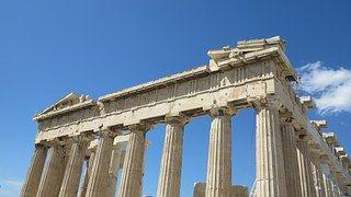 Acrópolis, Templo, Cielo