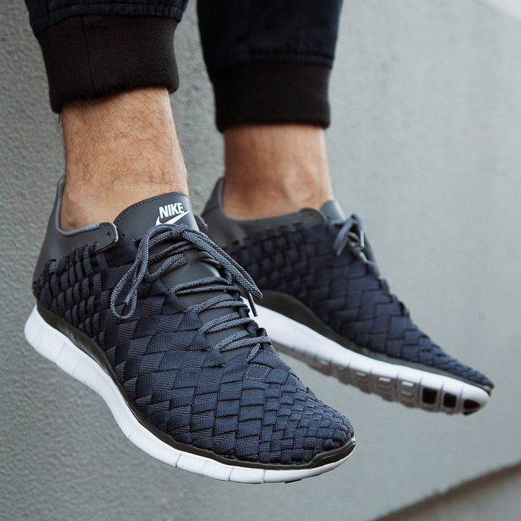 Black Woven Sneakers, Nike, Men's Spring Summer Fashion. | mens women shoes…