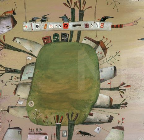 ILLUSTRATIVO - daily eyecandy and cute art: Natalie Pudalov