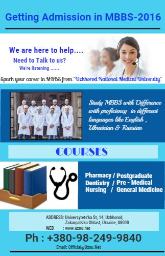 Getting MBBS Admission in Ukraine