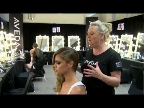 Aveda Key Hair Styles from Fashion Launch 2012