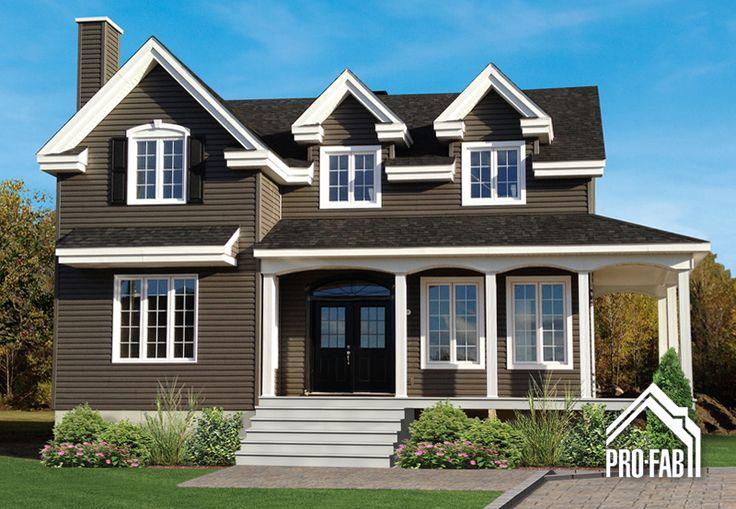 Les 24 meilleures images propos de modele de maison sur pinterest garde m - Modele maison champetre ...