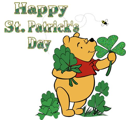 Happy St Patrick's Day! Have a fun & safe weekend!