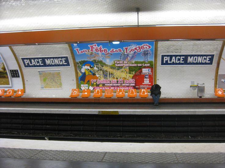 Place Monge metro