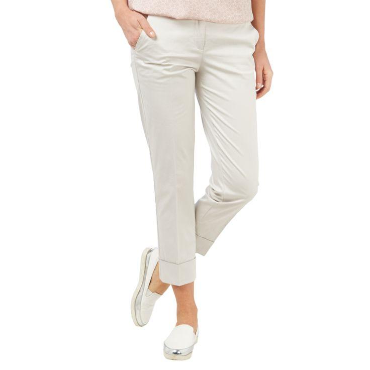 | #Cambio #Stoffhose mit #Zierkettenbesatz #für #Damen