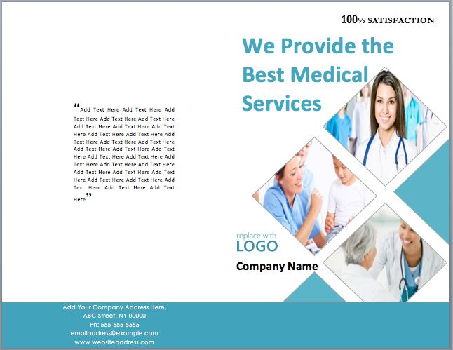 Medical Package Brochure Template | Template | Pinterest ...