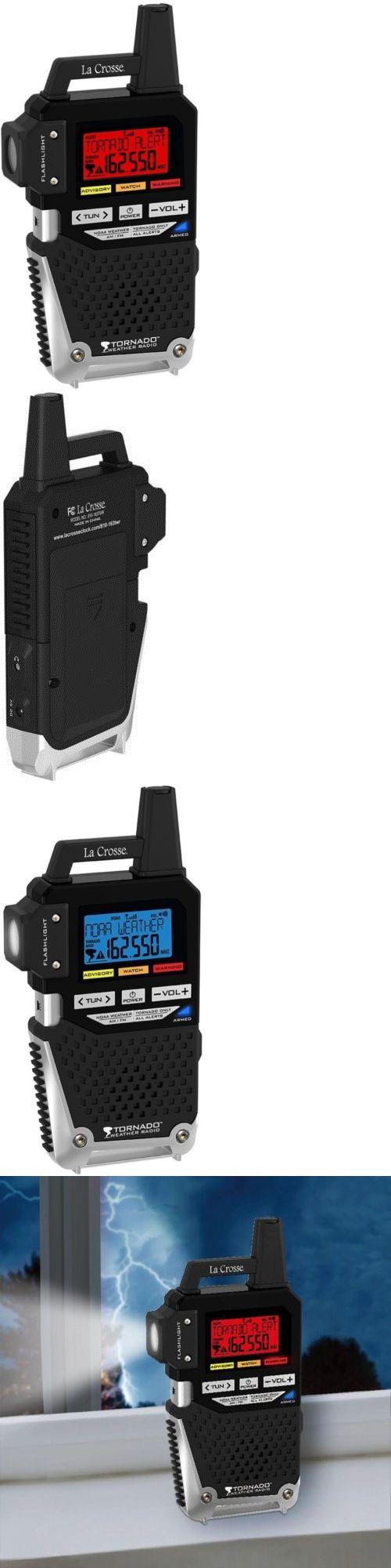 Portable AM FM Radios: La Crosse Technology Noaa Am Fm Weather Alert Radio With 1-Button Tornado Alert -> BUY IT NOW ONLY: $65.99 on eBay!