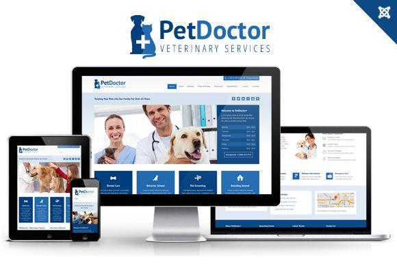 Check out PetDoctor Veterinary Joomla Theme by webunderdog on Creative Market