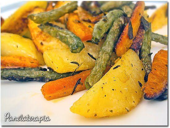 Legumes Crocantes em Cama de Ervas ~ PANELATERAPIA - Blog de Culinária…