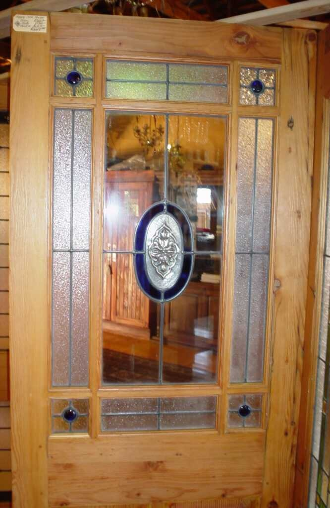 Square and Oval Happy Door