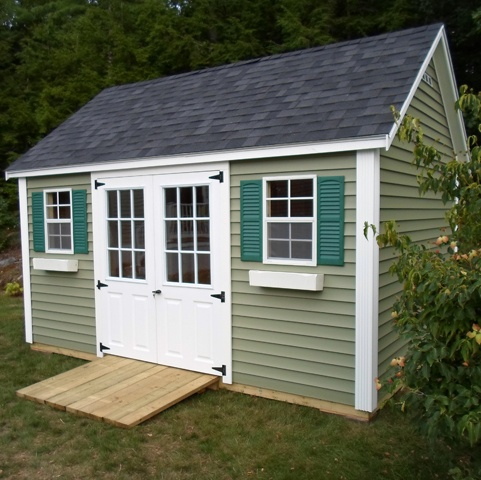 Pin by post woodworking on post woodworking sheds pinterest for Cypress color vinyl siding