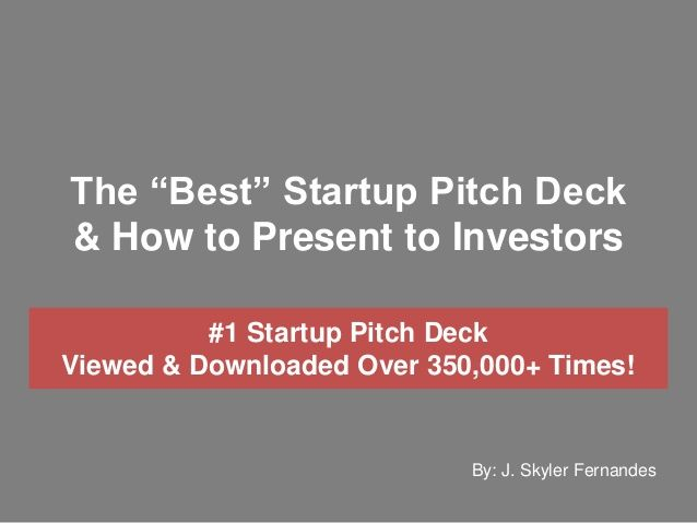 23 best Work Pitch Deck images on Pinterest Pitch, Startups and - best of barefoot investor blueprint promo code