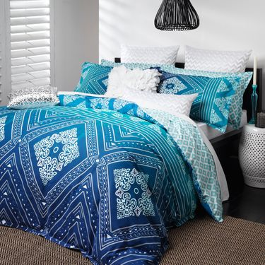 Logan & Mason Ziggy Quilt Cover Set | Spotlight Australia