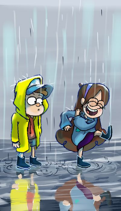Mabel and Dipper ~Gravity falls