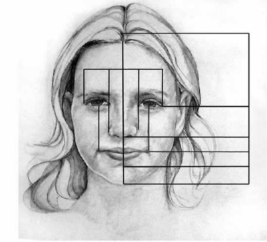 Artist-How_to Facial Proportions I'm forever indebted to my art teacher in junior high for teaching me this.