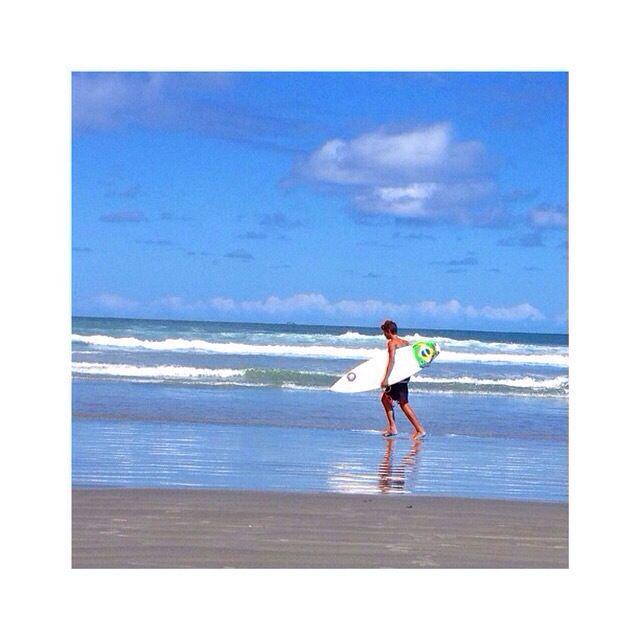 Surfer in Brazil - Ubatuba