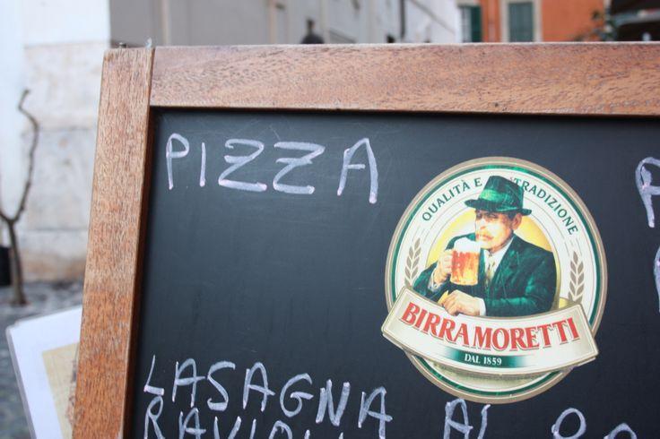 #Birra Moretti, #RioneMonti, #Rome #Green