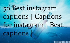 Hashtags and captions have become the new way of status updates now! Every other post that you see will be decked up with captions full of hashtags and smileys. So if you are one of the social nerds looking for a perfect caption for your picture, find some from here. Take a look at our collection for the50 Best instagram captions   Captions for instagram   Best captions   50 Best instagram captions   Captions for instagram   Best captions   Smile a little more regret a little less Kinda…