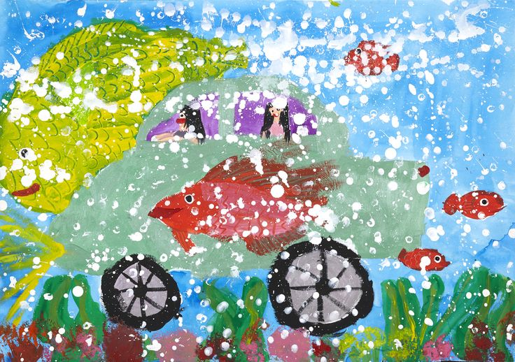 Deep Sea Exploring Car - Hinata Takahashi | Toyota Dream Car Art Contest