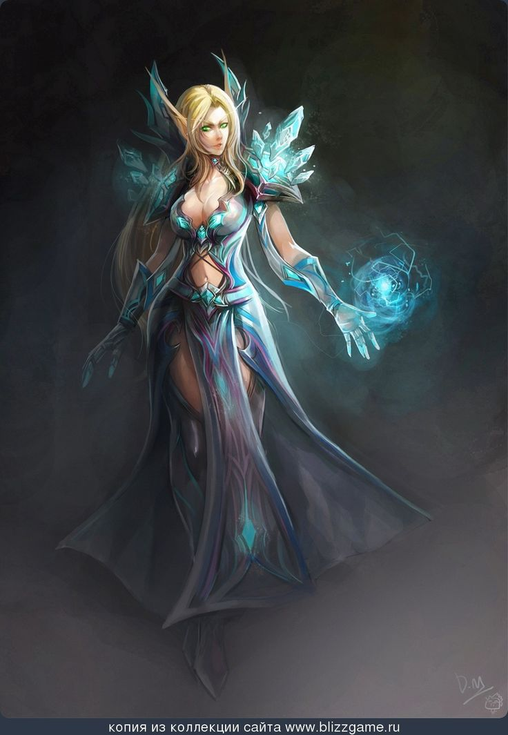 Resultado de imagen para world of warcraft blood elf mage