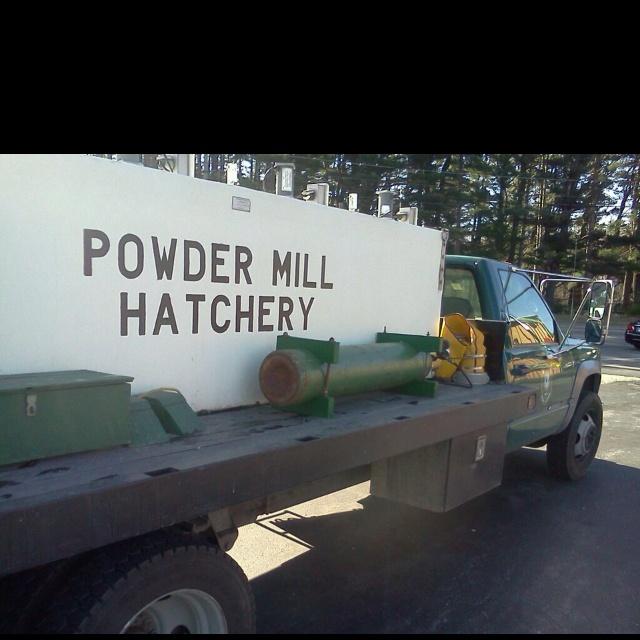 Fish hatchery truck