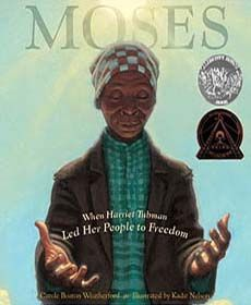Powerfully moving book about Harriet Tubman and the Underground Railroad. Week 9